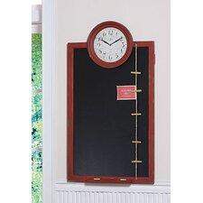 Kitchen Blackboard With Clock