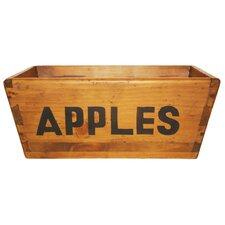 Wooden Apple Box