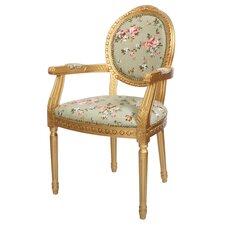 Louis Floral Armchair