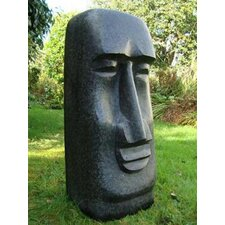 Enigma Easter Island Man Statue