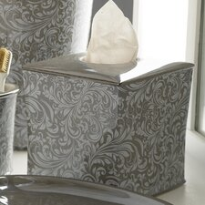 Bedminister Scroll Tissue Holder in Flint Grey