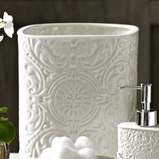 Bedminster Damask Waste Basket