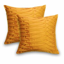Sofia Faux Silk Pillow (Set of 2)