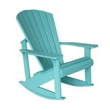 <strong>CR Plastic Products</strong> Generations Adirondack Rocking Chair