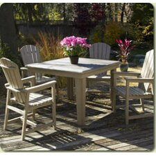 <strong>CR Plastic Products</strong> Generations 5 Piece Dining Set