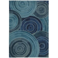 <strong>Kathy Ireland Home Gallery</strong> Palisades Denim Rug