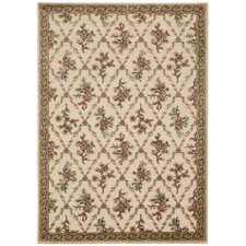 <strong>Kathy Ireland Home Gallery</strong> Villa Retreat Cream Rug