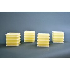 Vanilla Flameless Candle (Set of 4)