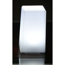 "LuminArt Nova 5"" H Table Lamp with Square Shade"