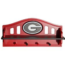 NCAA Coat Rack with Shelf