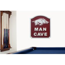 NCAA Man Cave Shield