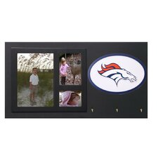 <strong>Fan Creations</strong> NFL Key Holder with Picture Frames