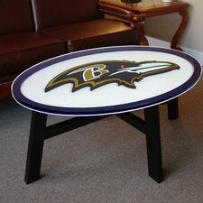 <strong>Fan Creations</strong> NFL Logo Coffee Table