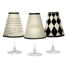 <strong>di Potter</strong> Paris Wine Shades Parchment (Set of 6)