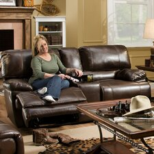 River Double Reclining Loveseat