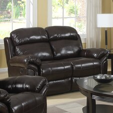 Raisin Double Reclining Loveseat