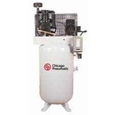 80 Gallon 7.5 Single Phase Vertical Tank Air Compressor