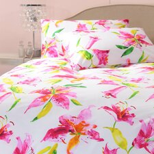 Lily 3 Piece Queen Duvet Set