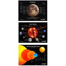 <strong>Levenhuk Inc.</strong> Space Posters Set