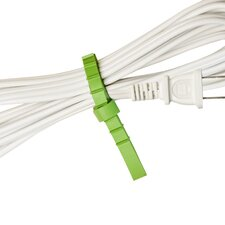 <strong>UT Wire</strong> Cable Management Q Knot Original Reusable Cable Ties (Set of 25)