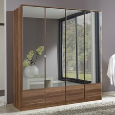 Imago 4 Door Mirrored Wardrobe