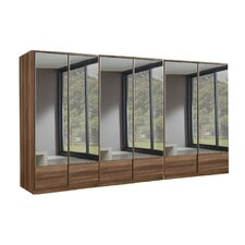 Imago 6 Door Mirrored Wardrobe