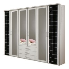 Yvonne 6 Door 3 Drawer Wardrobe