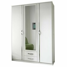 Duo 3 Door Wardrobe