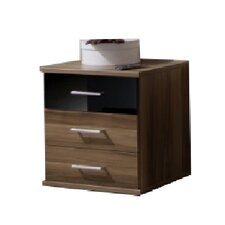 Gamma 3 Drawer Bedside Table