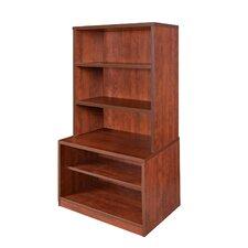 """Sandia Low 55"""" Hutch/Bookcase"""