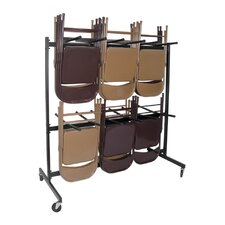 Stand Up Folding Chair Cart