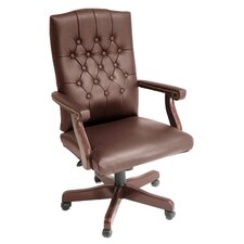 <strong>Regency</strong> Ivy League High-Back Traditional Vinyl Swivel Executive Chair