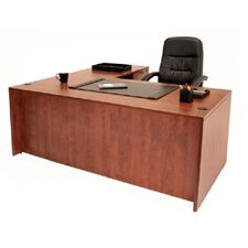 "Double Pedestal ""L"" Desk"