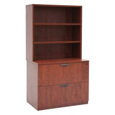 Legacy Lateral File with Open Hutch