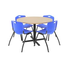 Hospitality Four Chairs with Round Table