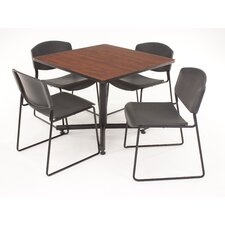 <strong>Regency</strong> Hospitality Four Zeng Chairs with Square Table