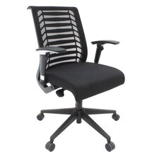 Eclipse Mesh Back Multi Function Chair with Arms