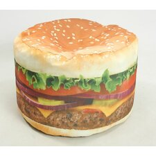 <strong>Wow Works LLC</strong> Hamburger Adult Bean Bag Chair