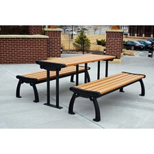 <strong>Frog Furnishings</strong> Heritage Recycled Plastic Picnic Table