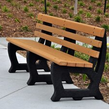 Brooklyn Recycled Plastic Park Bench
