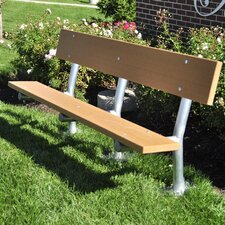 Madison Recycled Plastic Park Bench