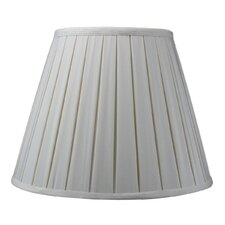 <strong>Home Concept Inc</strong> Empire Box Pleat Lamp Shade Shantung Fabric Lamp Shade