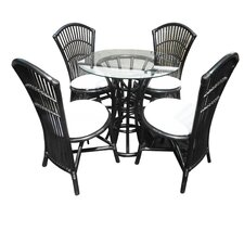 <strong>D-Art Collection</strong> Bistro 5 Piece Dining Set