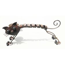 Cat Iron Décor Statue