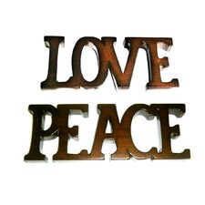Love and Peace Figurine