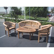 Island 4 Piece Dining Set