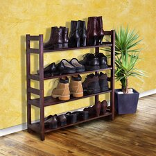 <strong>D-Art Collection</strong> Veranda 4 Tier Shoes Rack