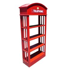 "London Telephone 70"" Bookcase"