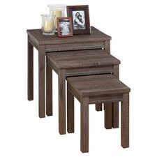 <strong>Jofran</strong> Falmouth 3 Piece Nesting Tables