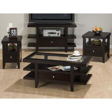 Double Header Mobile Coffee Table Set